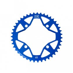 Stay Strong 7075 Alloy 4 bolt Chainring Blue