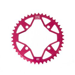 Stay Strong 7075 Alloy 4 bolt Chainring Red