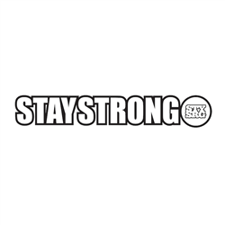 Stay Strong 7075 CNC Alloy 5 bolt Chainring Black