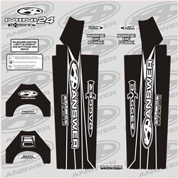 Answer Fork Wraps Black