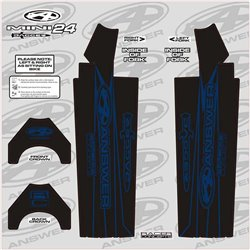 Answer Fork Wraps Blue