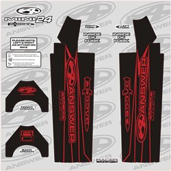 Answer Fork Wraps Red