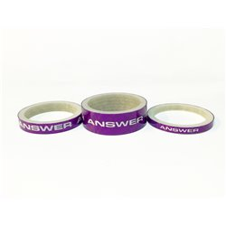 ANSWER Carbon Spacer 3 Pack Purple