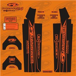 Answer Fork Wraps Flo Orange