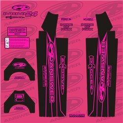 Answer Fork Wraps Flo Pink