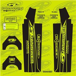 Answer Fork Wraps Flo Yellow