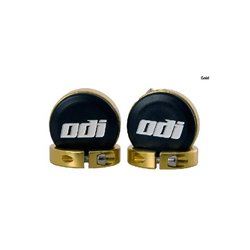 ODI Lock Jaw Clamps (Includes end caps) Gold