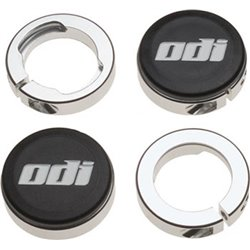 ODI Lock Jaw Clamps (Includes end caps) Silver