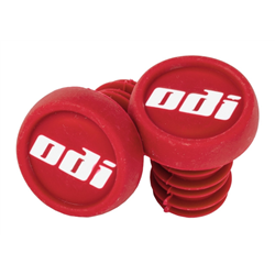 BMX 2-Color Push-In Plug (Packaged, Includes Free ODI Keychain) Red