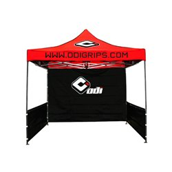 ODI Folding Canopy (10'x10' Steel Folding Canopy w/ Backwall and Sides)