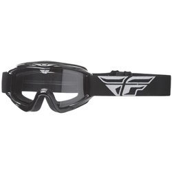 FLY GOGGLE FOCUS BLACK CLEAR LENS