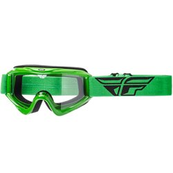 FLY GOGGLE FOCUS GREEN CLEAR LENS