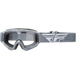 FLY GOGGLE FOCUS GREY CLEAR LENS