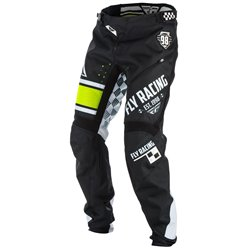 FLY KINETIC ERA BICYCLE PANT BLK/WHT