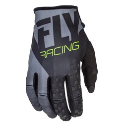 FLY KINETIC GLV BLK/GRY