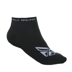 FLY NO SHOW SOCK BLK/WHT