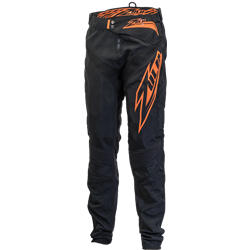 Zulu Black Pant / Orange Print