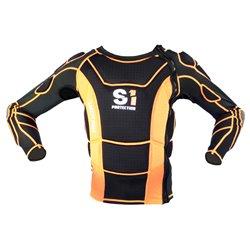 S1 Safety Jacket Black/Orange