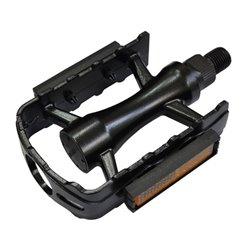 Universal pedal aluminium black