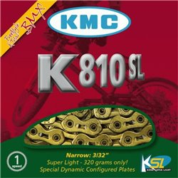 KMC K810 SL 3/32  Gold