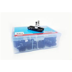 Elvedes 25 Pairs Box 72mm Brake Pads black