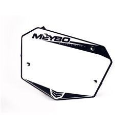 Meybo Front Numberplate V2.0 White