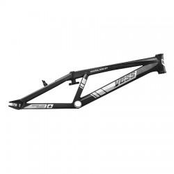 Yess BMX Race frame ELITE WORLD CUP Black
