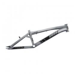 Yess BMX Race frame TYPE X Silver