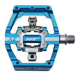 HT X-2 Clip pedal Blue
