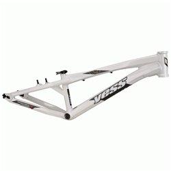 Yess BMX Race frame TYPE X White