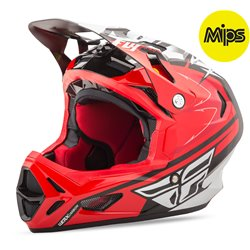 FLY WERX MIPS RIVAL Red/White/Black Palmer
