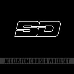 SD Ace Custom Cruiser 10mm Wheelset
