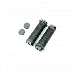 SD mini black lock on grip 115mm with flange, lockrings Black