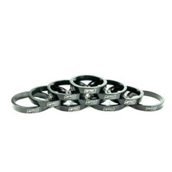 SD Stem Spacer bulk 10x 5mm Black