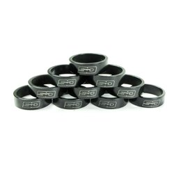 SD Stem Spacer bulk 10x 10mm Black
