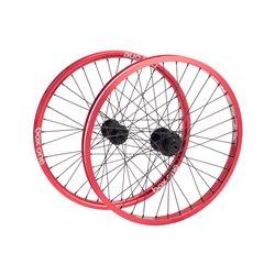 Box Three Pro Wheelset Red