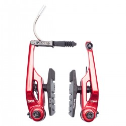 Box Three V Brakes Red