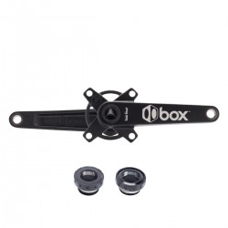 Box Four Cold Forged 2pc crankset 24 X Black