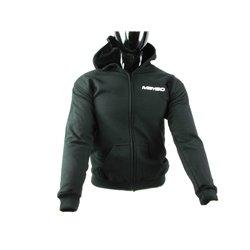 Meybo Logo Zipped Hoody V1 Black