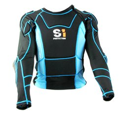 S1 Safety High Impact Jacket Black/Blue