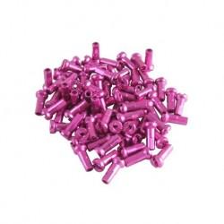 Universal alloy spoke nipple 14g 16mm Pink