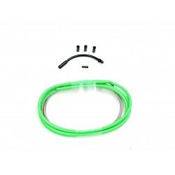 SD slick brake cable kit 1,2m Green