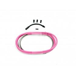 SD slick brake cable kit 1,2m Pink