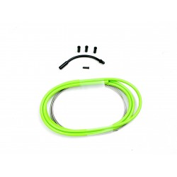 SD slick brake cable kit 1,2m Neon Green