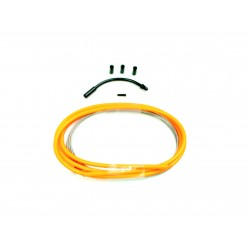 SD slick brake cable kit 1,2m Neon Orange
