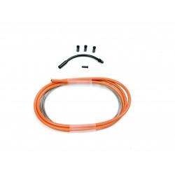 SD slick brake cable kit 1,2m Orange