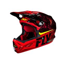 FLY Werx Imprint 2019 Mips Carbon Helmet Black/Red