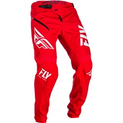 FLY Kinetic Shield 2019 Bicycle Pant Red/White