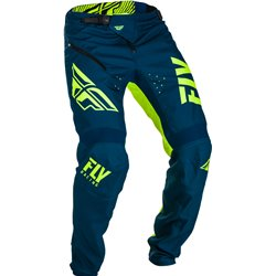 FLY Kinetic Shield 2019 Bicycle Pant Navy/Hi-Vis