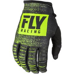 FLY Kinetic Noiz 2019 Glove Black/Hi-Vis
